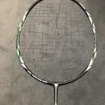 Badmintonketcher og opstrengning
