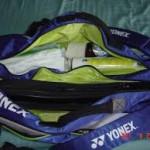 Min badmintontaske er blevet forbyttet!